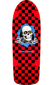 Powell Peralta Deck OG Ripper Skateboard Red/Blk