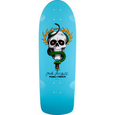 Powell Peralta Deck McGill Skull and Snake Light Blue - 10 x 30.125