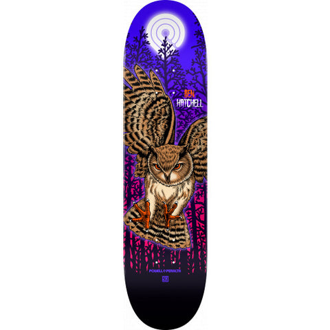 Powell Peralta Deck Pro Ben Hatchell Owl Skateboard - Shape 247 - 8 x 31.45