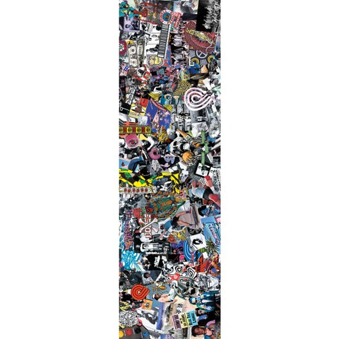 Powell Peralta Grip Tape Sheet 9 x 33 Collage (White)