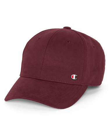 Champion Life® Classic Twill Hat, C Patch Logo - Maroon