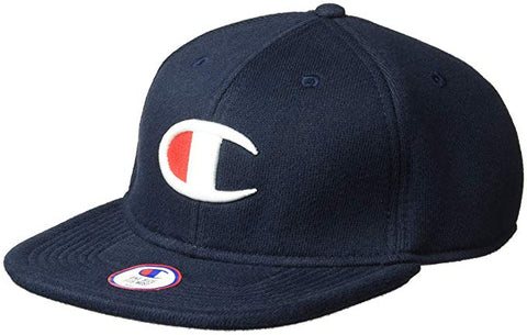 Champion Life® Reverse Weave Baseball Hat, Big C Logo - Navy