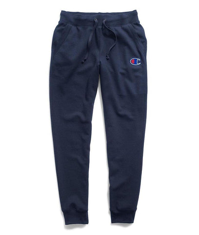 Champion Women's Powerblend® Fleece Joggers, Applique C Logo - Imperial Indigo