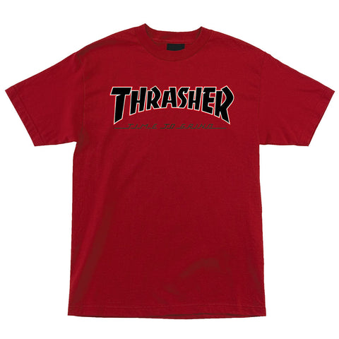 Thrasher TTG Regular S/S Independent Mens T-Shirt Red