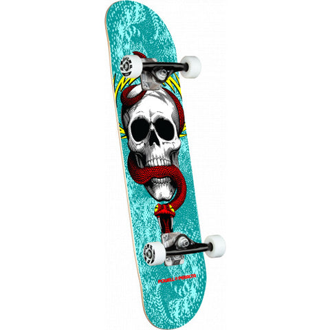 Powell Peralta Complete Skateboard Skull & Snake One Off Turquoise - 7.75 x 31.08