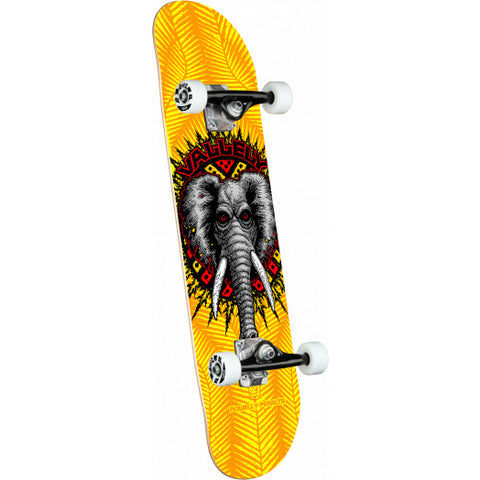 Powell Peralta Complete Skateboard Vallely Elephant Yellow - 8 x 31.45