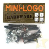 Mini Logo Hardware Single pks 7/8""