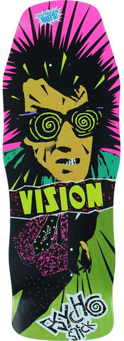 Vision Skateboards Old School Psycho Re-Issue - Green Stain 10x30