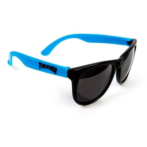Thrasher Neon Blue Thrasher Sunglasses