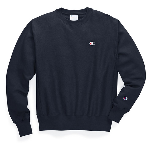 Champion Life Reverse Weave̴ Men's Sweatshirt Navy