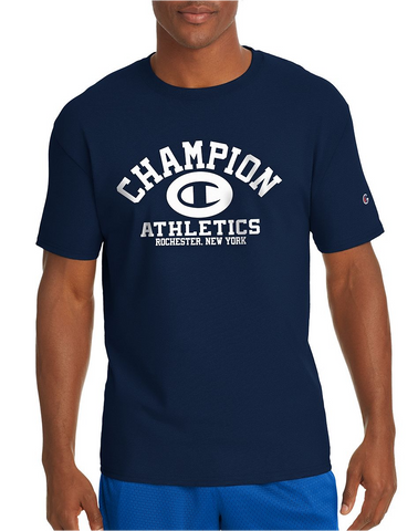 Champion Cotton Homebase Tee Navy