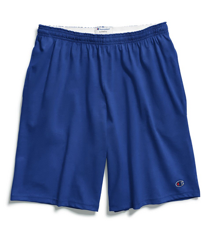 Champion Cotton 9-Inch Men's Shorts with Pockets - Surf the Web