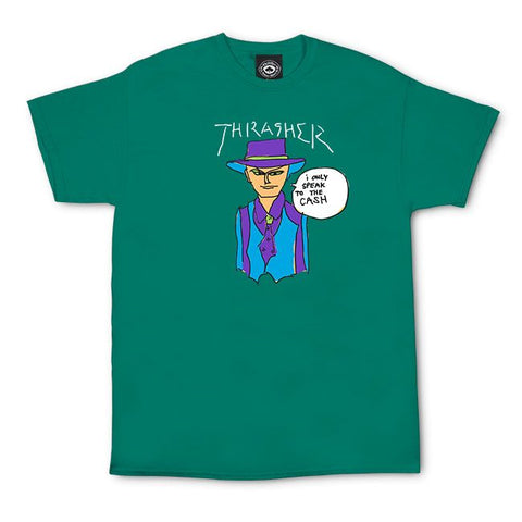 Thrasher Gonz Cash T-Shirt (Jade)
