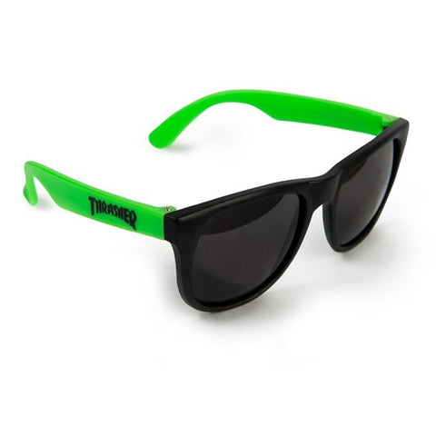 Thrasher Neon Green Thrasher Sunglasses