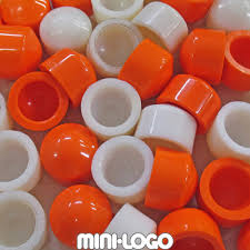 Minilogo Pivot Cups Orange 2/pk.