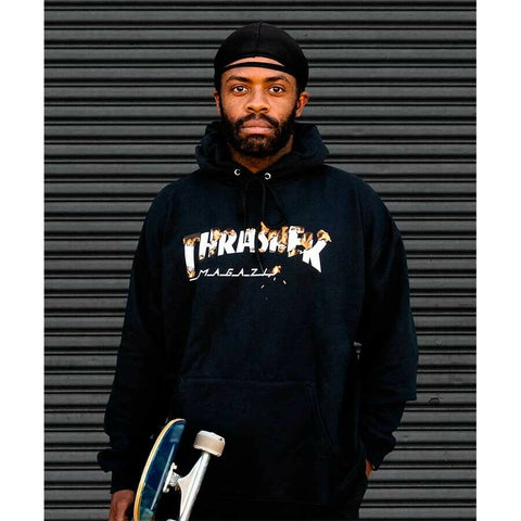 Thrasher Intro Burner hood black