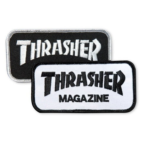 Thrasher Patch Logo black