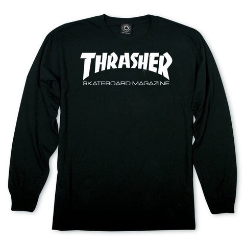 Thrasher Skate Mag Long Sleeve T-Shirt Black