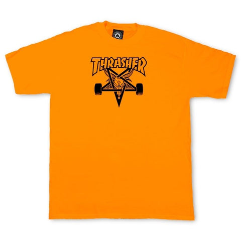 Thrasher Skategoat T-Shirt Safety Orange