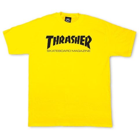Thrasher Skate Mag T-Shirt Yellow