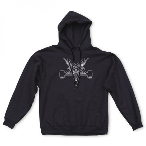 Thrasher Blackout Hood Black