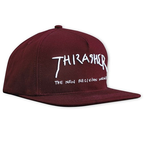 Thrasher New Religion Snapback Maroon