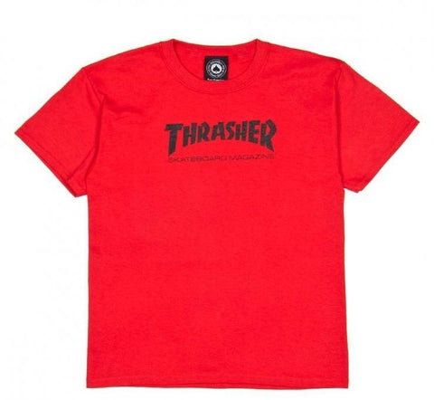 Thrasher Youth Skate Mag T-Shirt Red