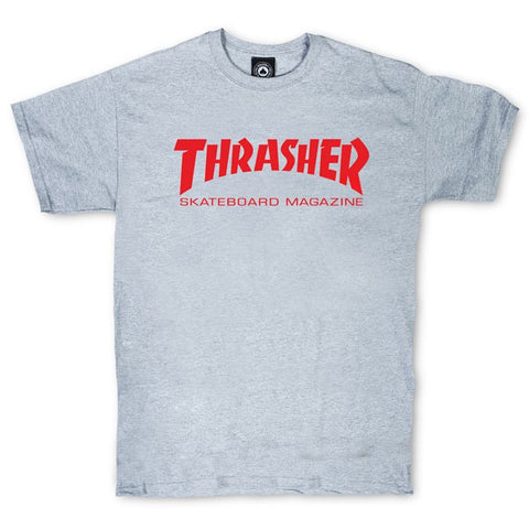 Thrasher Skate Mag T-Shirt Grey/Red