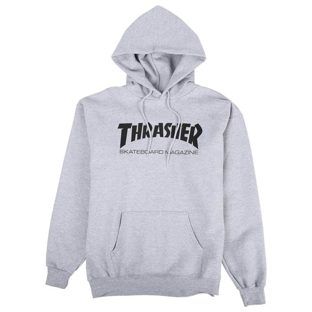 Thrasher Skate Mag Hood Grey – CrazeeCausa e132841664c0