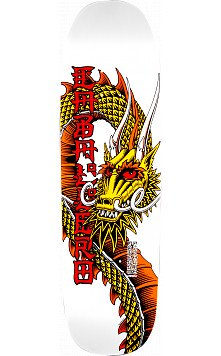 Powell Peralta Caballero Ban This Dragon Skateboard Deck White