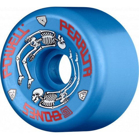 Powell Peralta G-Bones Skateboard Wheels 64mm 97a - Blue