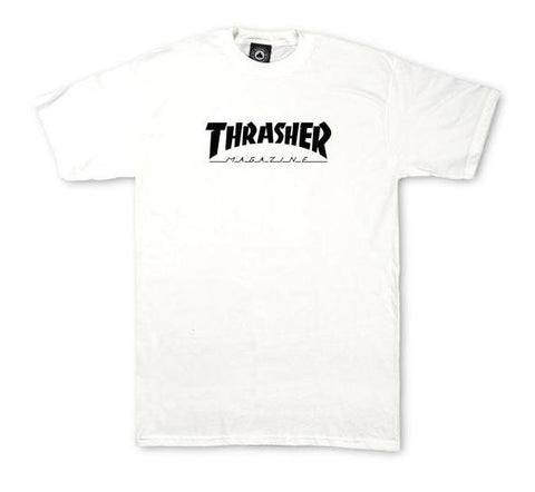Thrasher Youth Skate Mag T-Shirt White