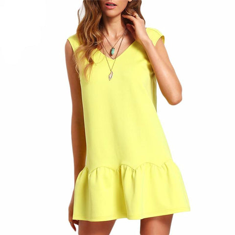JENNIFER YELLOW DRESS