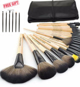 24 Piece Professional Makeup Brush Set - Shopichic