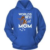 WORLD BEST CAT MOM - Hoodie - Shopichic