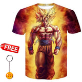 Dragon Ball DBZ Bulma Super Saiyan Vegeta T-shirt 3D Unisex Anime Goku Goten Gohan T shirt