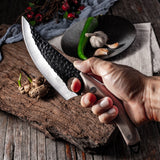 Handmade Kitchen Boning Knife, Fishing Knife, Meat Cleaver, Outdoor Cooking Butcher Knife