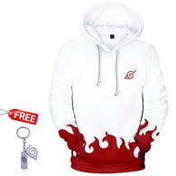 Naruto Hoodie For Men Women 3D Naruto Hoodie For Boys Sweatshirts With a FREE Naruto Keychain - Shopichic