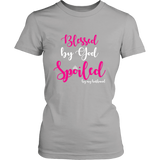 Blessed By God Spoiled By Husband Tshirt - Shopichic