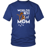 WORLD BEST CAT MOM - Tshirt - Shopichic