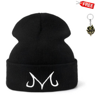 Majin Buu Dragon Ball Beanie DBZ Knitted Winter Hat with Free Dragon Ball Z Keychain - Shopichic