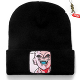 Dragon Ball Z MAJIN BUU Beanie Beanies for Men Women Warm Knitted Winter Hat Unisex Cap with Free DBZ Keychain - Shopichic
