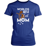 WORLD BEST CAT MOM - Female - Shopichic