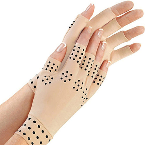1 Pair Magnetic Therapy Gloves - Arthritis Relief