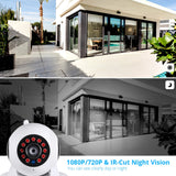 Wireless Home Security with Night Vision