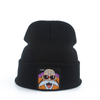 Dragon Ball Beanies Majin Buu Beanies Skullies Winter Knitted Hat Unisex Bonnet Cap With Free Dragon Ball Necklace - Shopichic