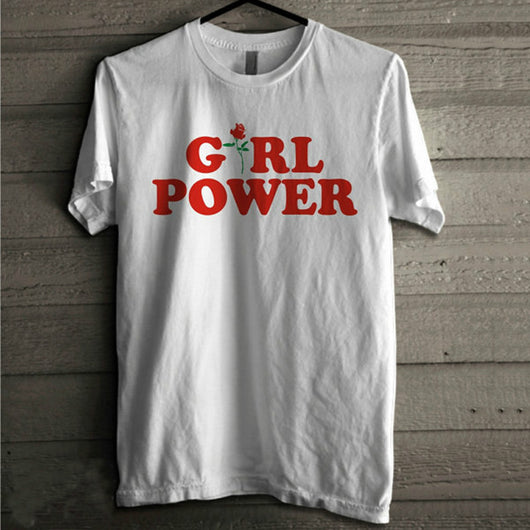 Girl Power T-Shirt - Shopichic