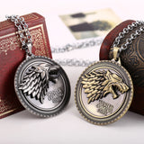 Game of Thrones Winter Is Coming Necklace - Shopichic