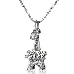 Eiffel Tower Pendant Necklace - Shopichic