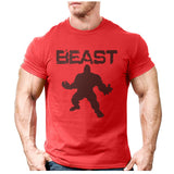 Men Beast Printed T-Shirts - Shopichic